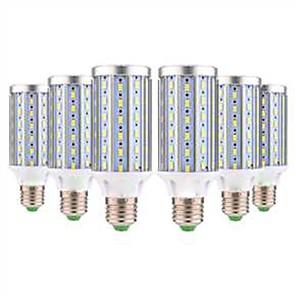 ieftine Proiectoare LED-YWXLIGHT® 6pcs 25 W Becuri LED Corn 1400 lm E26 / E27 T 72 LED-uri de margele SMD 5730 Decorativ Alb Cald Alb Rece 85-265 V