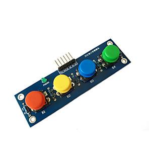 ieftine Conectoare & Terminale-patru capace cu un modul cu buton independent modul electronic modul mcu