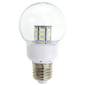 ieftine Becuri LED Glob-Lampă cu bulă LED cu LED e27 3w 12v 24v ac dc reflectorizant 27 leduri 5730 smd led alb alb cald cald pentru cabina barcă de iluminat acasă 1 buc * 1