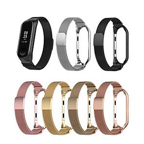 Недорогие Ремешки для часов Xiaomi-Ремешок для часов для Mi Band 3 / Xiaomi Band 4 Xiaomi Спортивный ремешок Микрофибра Повязка на запястье