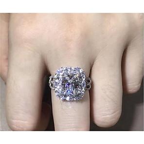 povoljno Prstenje-Muškarci Prsten 1pc Obala Bijela Blushing Pink Kamen Pozlaćeni Imitacija dijamanta Krug Stilski Dar Festival Jewelry Cvijet