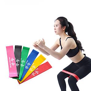 ieftine Accesorii Fitness-Benzi de botine Benzi de rezistență pentru picioare și bot Sport latex de mătase Yoga Pilates Fitness Elastic Durabil Anti-stres Butt Lift Pentru Dame