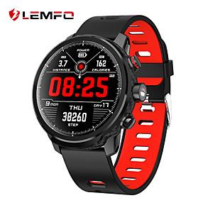 povoljno Pametni satovi-LEMFO L5 Uniseks Smart Satovi Android iOS Bluetooth Vodootporno Heart Rate Monitor Mjerenje krvnog tlaka Udaljenost praćenje Informacija Brojač koraka Podsjetnik za pozive Mjerač aktivnosti Mjera