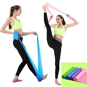 ieftine Benzi Exerciții-Benzi de Rezistenta 1 pcs Bagaj de mână Sport Material amestecat Yoga Pilates Fitness Antigravitate ultra puternică Ușor Pierdere în greutate Antrenament Expoziv de Forță Corector Postură Pentru