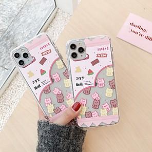 povoljno iPhone maske-etui za jabučnu scenu iphone 11 11 pro 11 pro max crtani uzorak visoki prozirni debeli tpu materijal zračni jastuk anti-pad all-inclusive futrola za mobitel