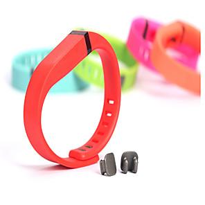 Недорогие Ремешки для спортивных часов-Ремешок для часов для Fitbit Flex Fitbit Классическая застежка TPE Повязка на запястье