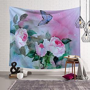 povoljno Zidni ukrasi-5 veličina prekrasne prirodne šume tiskane velike zidne tapiserije jeftine hipi zidne viseće boemske zidne tapiserije mandala zidni umjetnički dekor