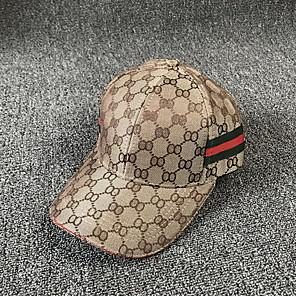ieftine Pălării Femei-Pentru femei Bloc Culoare De Bază,Poliester-Șapcă Baseball Toamnă Kaki Negru Gri