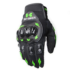 ieftine Mănuși de Motociclist-mănuși cu ecran tactil mănuși de motocicletă iarnă și vară motos luvas guantes motocross echipament de protecție mănuși de curse