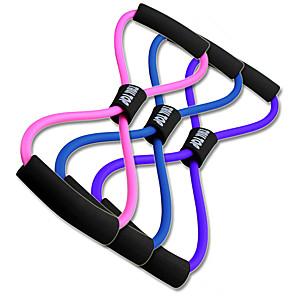 ieftine Accesorii Fitness-Benzi de Rezistenta Figura 8 Cordon de exercițiu Elastice 1 pcs Sport TPE Yoga Pilates Fitness Ajustabil Durabil Forța totală a corpului Pentru Bărbați Dame