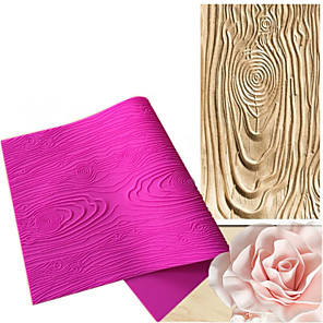 ieftine Ustensile & Gadget-uri de Copt-1 buc bucătărie de lemn mare textură tampon mucegai bătut silicon