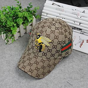 ieftine Pălării Femei-Pentru femei Florale De Bază,Poliester-Șapcă Baseball Toate Sezoanele Kaki Negru Gri
