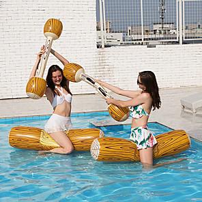 ieftine Ajutoare Înot-Aripioare PVC Uscare rapidă Gonflabile Durabil Înot Sporturi Acvatice pentru Adulți Copii 140*35/115*20 cm