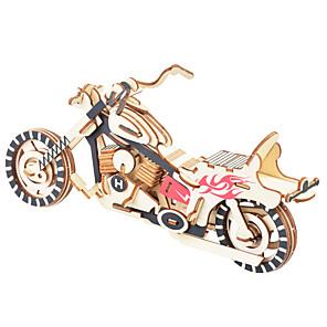 ieftine Recuzită de Magie-Puzzle 3D Puzzle Modele de Lemn Dinosaur Aeronavă Moto Reparații De lemn Clasic Motocicletă Unisex Jucarii Cadou