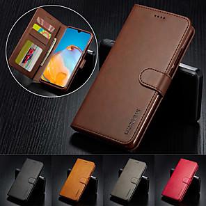Недорогие Чехлы и кейсы для Huawei-Роскошный кожаный флип кошелек чехол для Huawei P40 Pro P30 Lite Mate 30 Pro P20 Pro P20 Lite P30 Pro MATE 30 Lite Магнитная карта стенд стенд