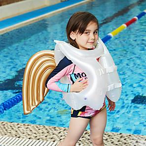 ieftine Ajutoare Înot-Aripioare PVC Gonflabile Durabil Înot Ski Nautic & Sporturi de Tragere pentru Copii 46*43 cm