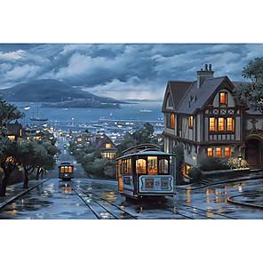 ieftine Puzzle-1000 pcs Navă Peisaj marin Puzzle Puzzle pentru adulți Jumbo De lemn Natural & Peisaj Adulți Jucarii Cadou