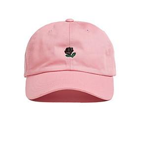 ieftine Pălării Femei-Pentru femei Mată De Bază,Poliester-Palarie de soare Vară Roz Îmbujorat Kaki Negru