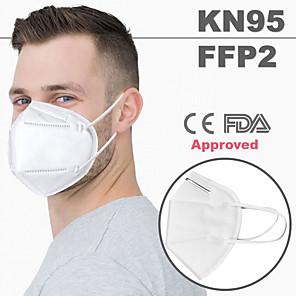 olcso Vérnyomás-20 pcs KN95 FDA CE EN149:2001 Standard FFP2 Arc maszk Gázmaszk Védelem CE FDA Tanúsítvány Magas minőség Fehér / A szűrési hatékonyság (PFE)> 95%