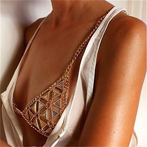 ieftine Bijuterii de Corp-Corp lanț / burtă lanț Lanț Talie European Pentru femei Bijuterii de corp Pentru Petrecere / Seară Concediu Link / Lanț Diamante Artificiale Aliaj Auriu Argintiu 1 buc