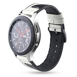 Недорогие Часы для Samsung-Ремешок для часов для Samsung Galaxy Watch 46 / Samsung Galaxy Watch 42 / Samsung Galaxy Active Samsung Galaxy Спортивный ремешок силиконовый Повязка на запястье
