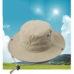 ieftine Pălării, Șepci & Bandane-Bărbați Pentru femei Căciulă Soare Pălărie de pescuit Pălăria pescăresc Καπέλο πεζοπορίας 1 piese Wide Brim Vară În aer liber Portabil Cremă Cu Protecție Solară Rezistent la UV Respirabil Pălării