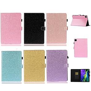 ieftine Carcase iPad-carcasa pentru apple ipad mini 3/2/1 / mini 5 card card / cu suport / flip carcase pentru corp complet colorat / glitter luciu pu piele pentru ipad pro 11 '' 2020 / aer nou 10.5 2019 / pro 10.5 / ipad
