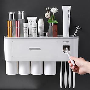 ieftine Cutii Depozitare Bucătărie-cutie de depozitare pentru perii de dinți cutie de toaletă, fără perete, pentru găuri
