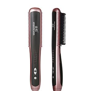 ieftine Produse Fard-kskin multifuncțional îndreptarea părului perii barbă îndreptarea stilului perii bărbați căldură păr ondulator electric îndreptare electrică pieptene fierbinte mașină de îngrijire a părului
