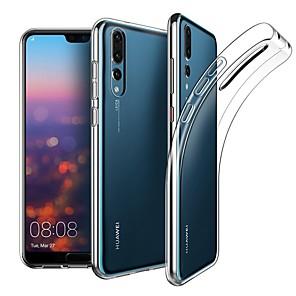hesapli Huawei İçin Kılıflar / Kapaklar-Huawei p30 / p30 pro / p30 lite / p20 / p20 pro / p20 lite / mate20 / mate20 pro / mate30 / mate30 pro darbeye dayanıklı arka kapak şeffaf tpu