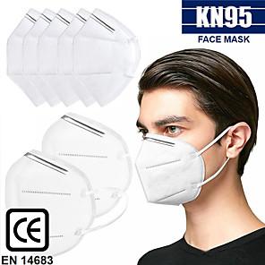 olcso Vérnyomás-20 pcs KN95 CE Approved Arc maszk Gázmaszk Védelem Raktáron CE Tanúsítvány Fehér