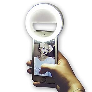 ieftine Lumini Nocturne LED-3.35 inch inch selfie light tiktok light youtube clip video pe telefon mobil cerc inel flash lentilă frumusețe lampă luminoasă pentru smartphone tiktok portabil 1 buc