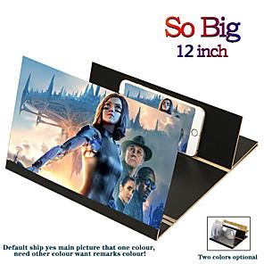 Недорогие Беспроводные зарядные устройства-3d универсальный усилитель экрана стереоскопический 12-дюймовый модный складной экран мобильного телефона для xiaomi samsung huawei apple