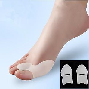 povoljno Halloween smink-Puno radno tijelo Noga Supports Toe Separatori & čukalj jastučić Dodatak za tijesto Shiatsu Ispravljač držanja Prilagodljivi Dynamics