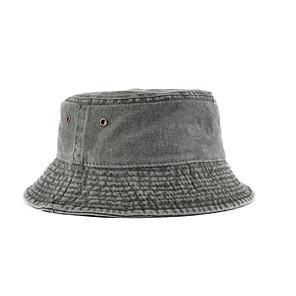 ieftine Pălării, Șepci & Bandane-Bărbați Pentru femei Căciulă Soare Pălărie de pescuit Pălăria pescăresc Καπέλο πεζοπορίας 1 piese Vară În aer liber Portabil Cremă Cu Protecție Solară Rezistent la UV Respirabil Pălării Culoare solidă