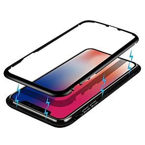 povoljno Maske/futrole za Xiaomi-magnetska futrola za xiaomi mi 10 / xiaomi note 10 / xiaomi cc9 pro otporna na udarce / jedno kaljeno staklo / metalna futrola za redmi note 8t / k30 / note 8 pro / mi cc9e / xiaomi pocophone f1 / mi