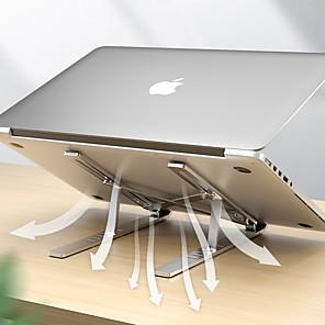 povoljno USB gadgeti-držač prijenosnog računala za macbook pro prijenosno sklopivo aluminijska legura nosač nosača nosača nosača prijenosnika za pc prijenosno računalo