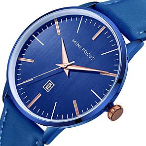 hesapli Lüks Saatler-Minifocus bilek İzle erkekler üst marka lüks ünlü erkek saat kuvars İzle