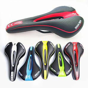 ieftine Ghidon & Mânere & Suport-Șa Bicicletă Respirabil Comfort Căptușit Design Hollow policarbonat Ciclism Bicicletă montană Echipament Bicicletă Negru / Alb Negru / Roșu Negru / Verde / Gros / Ergonomic / Ergonomic / Gros