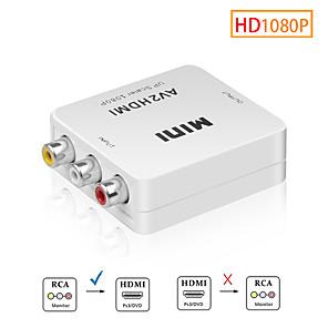 ieftine Audio & Video-adaptor scaler av to hdmi hd video convertor compozit cutie hdmi to rca av / cvsb l / r video 1080p mini hdmi2av suport ntsc pal