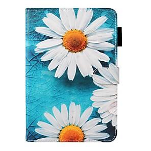hesapli iPad Kılıfları/Kapakları-Apple ipad 10.2 / ipad mini 3/2/1 / mini 4/5 cüzdan / kart sahibi / standı ile tam vücut kılıfları çiçek pu deri ipad pro 9.7 / yeni hava 10.5 2019 / hava 2/2017/2018