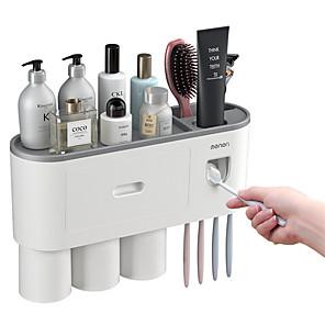 ieftine Cutii Depozitare Bucătărie-suport pentru periuță de dinți plastic creativ 1 buc