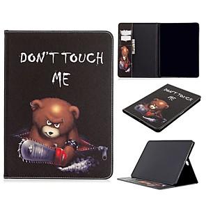 ieftine Carcase iPad-Maska Pentru Apple iPad Air / iPad 4/3/2 / iPad Mini 3/2/1 Portofel / Titluar Card / Cu Stand Carcasă Telefon Cuvânt / expresie PU piele