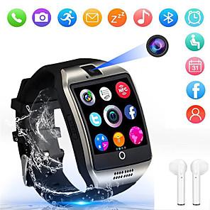 ieftine Ceasuri Smart2-Indear Q18 Barbati femei Uita-te inteligent Android iOS Bluetooth 2G Rezistent la apă Touch Screen Sporturi Calorii Arse Telefon Hands-Free Cronometru Pedometru Reamintire Apel Monitor de Activitate