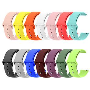 hesapli Saat Kordonları-Silika Jel Watch Band kayış için Huawei İzle GT 2 23cm / 9 inç 2.2cm / 0.9 İnç