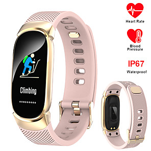 ieftine Cuarț ceasuri-696 QW16 Unisex Smart Wristbands Bluetooth Rezistent la apă Monitor Ritm Cardiac Măsurare Tensiune Arterială Sporturi Informație Pedometru Reamintire Apel Monitor de Activitate Sleeptracker Memento