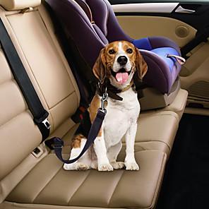 ieftine Câini Gulere, hamuri și Curelușe-Câini Animale Mici Scaun Mașină Câini / Echipament Siguranță Câini Formator Retractabil Dimensiune Ajustabilă Pentru Mașină Mată Terilenă Aliaj Husky Labrador Malamute de Alasca Dalmațian Border