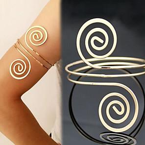 ieftine Bijuterii de Corp-Arm lanț Declarație Modă Pentru femei Bijuterii de corp Pentru Plajă Aliaj Auriu Argintiu