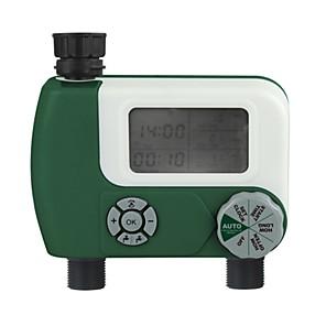 Недорогие Ремешки для Apple Watch-автоматический таймер полива сада программируемый цифровой полив спринклерной системы контроллер полива с 2 выходом для сада