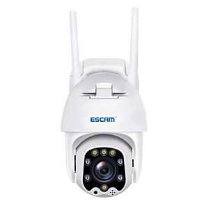 ieftine Camere IP-escam qf288 h.265x 1080p pan / tilt / 8x zoom ai detecție umanoidă stocare cloud stocare impermeabilă wifi ip camera onvif camă audio cu două sensuri